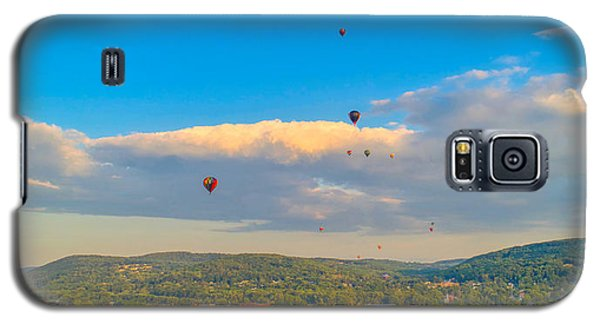 Hot Air Ballon Cluster Galaxy S5 Case