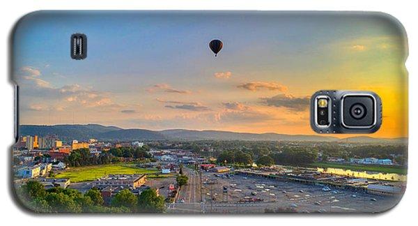 Hot Air Ballon Sunset Galaxy S5 Case