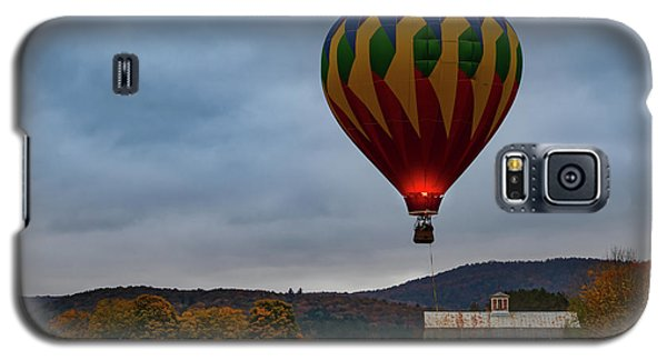 Hot Air Balloon At Woodstock Vermont Galaxy S5 Case