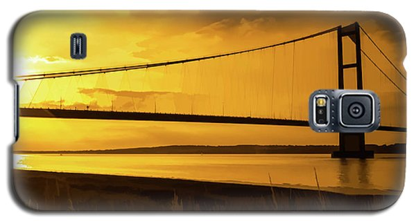 Humber Bridge Golden Sky Galaxy S5 Case