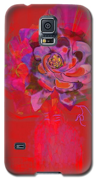 Hummingbirds Red Fantasy Galaxy S5 Case