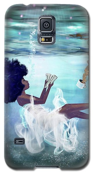 Beautiful Galaxy S5 Case - I Aint Drowning by Artist RiA