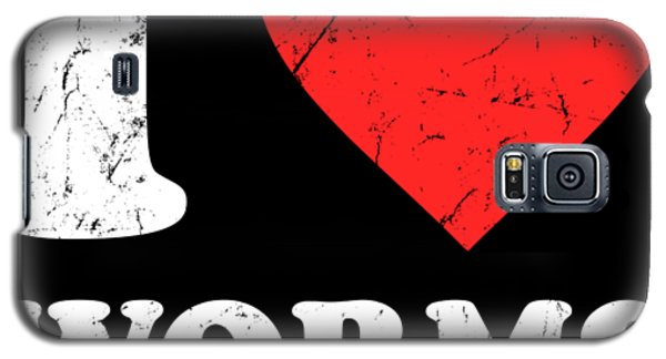 I Love Worms Galaxy S5 Case