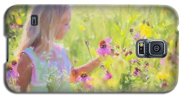 I Would Pick More Daisies ... Galaxy S5 Case