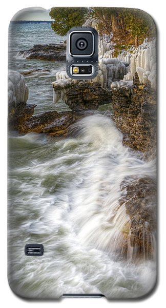 Ice And Waves Galaxy S5 Case