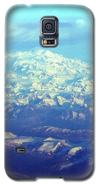 Ice Covered Mountain Top Galaxy S5 Case