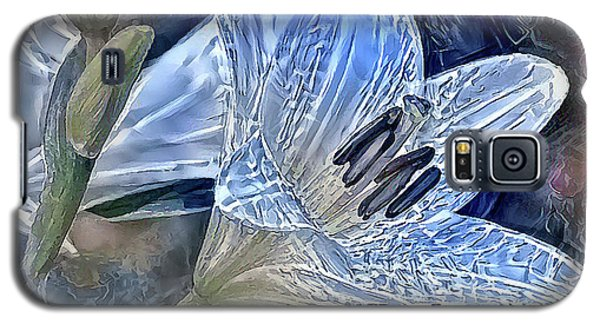 Ice Lily Galaxy S5 Case