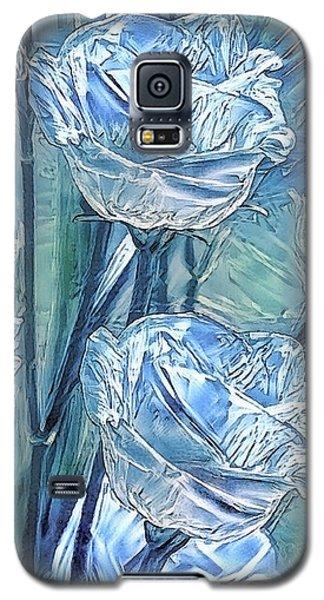 Ice Lisianthus Galaxy S5 Case