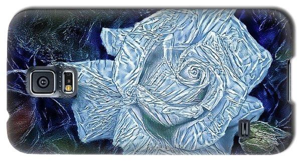 Ice Rose Galaxy S5 Case