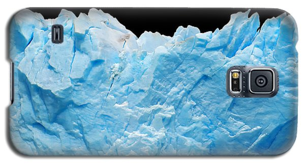 Icy Galaxy S5 Case - Icebergs Isolated On Black by Canadastock