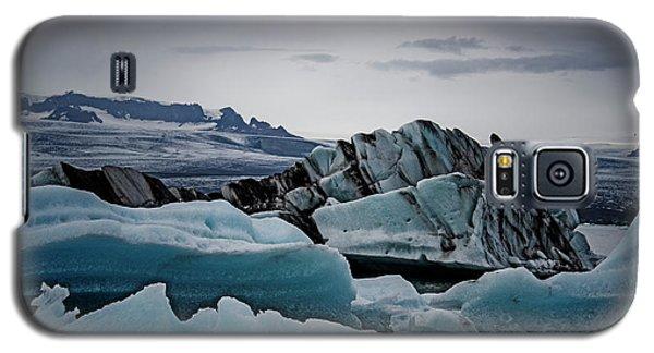 Icy Stegosaurus Galaxy S5 Case