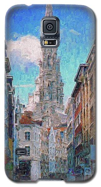 In-spired  Street Scene Brussels Galaxy S5 Case