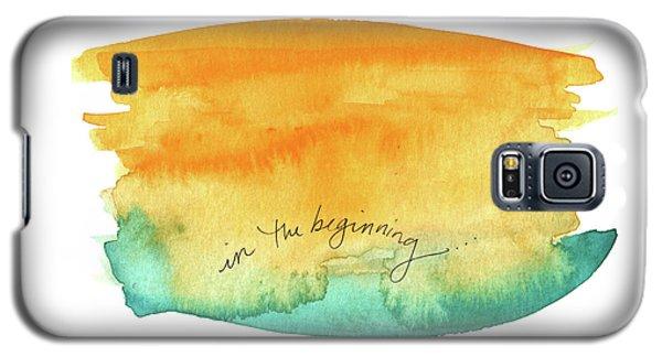 In The Beginning Galaxy S5 Case