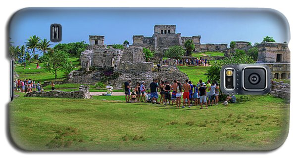 In The Footsteps Of The Maya Galaxy S5 Case