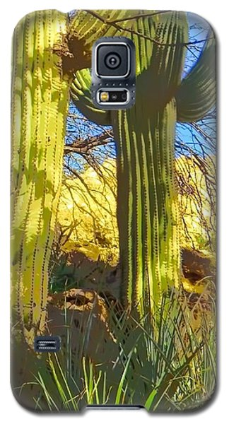 In The Shadow Of Saguaros Galaxy S5 Case