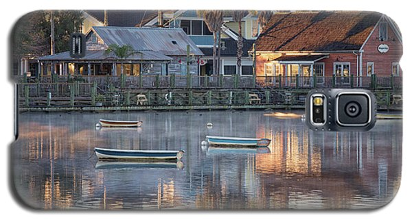 In The Stillness Of The Morn Fine Art Photography By Mary Lou Chmura Galaxy S5 Case