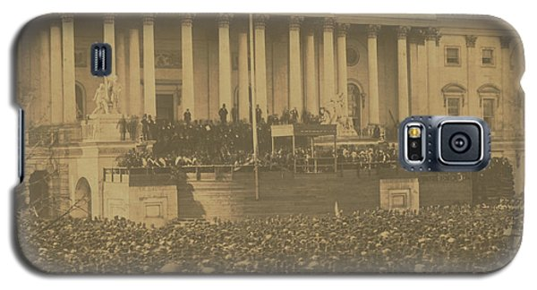 Inauguration Of Abraham Lincoln, March 4, 1861 Galaxy S5 Case