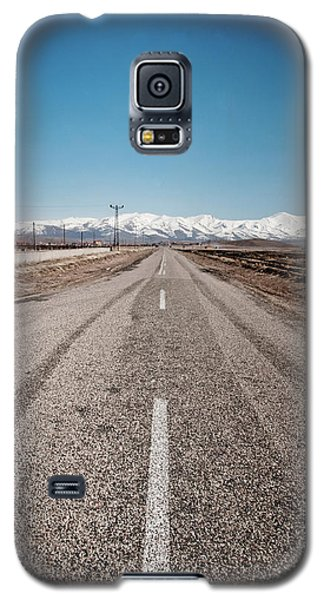 infinit road in Turkish landscapes Galaxy S5 Case