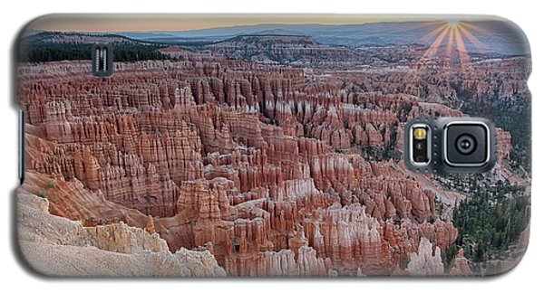Inspiration Point Sunrise Bryce Canyon National Park Summer Solstice Galaxy S5 Case