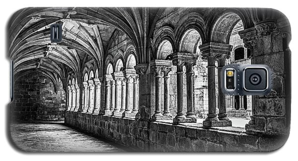 Interior Corridors Of The Monastery Of Santo Estevo De Ribas Del Sil Galaxy S5 Case