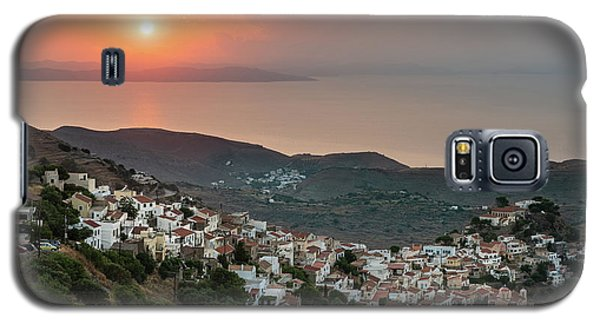 Ioulis Town Sunset, Kea Galaxy S5 Case