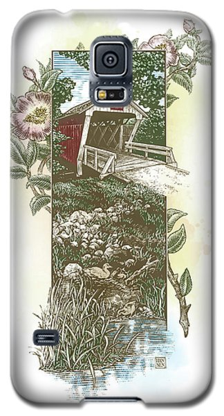 Iowa Covered Bridge Galaxy S5 Case