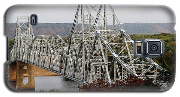 Iowa - Mississippi River Bridge Galaxy S5 Case