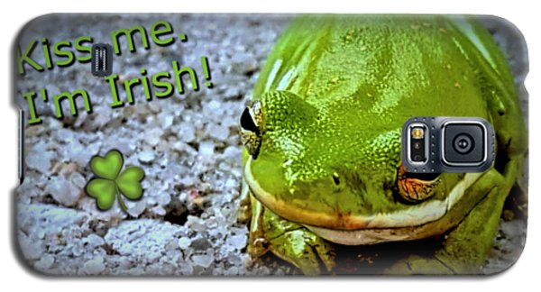 Irish Frog Galaxy S5 Case