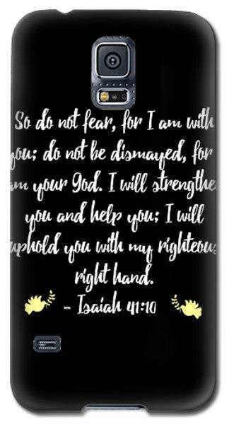 Isaiah 4110 Bible Galaxy S5 Case