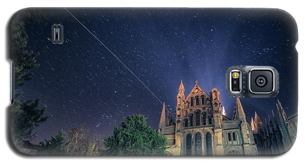 Iss Over Ely Cathedral Galaxy S5 Case