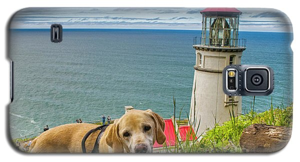 Jackson At Heceta Head Lighthouse Galaxy S5 Case