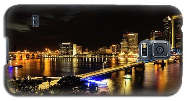Jacksonville Skyline By Night Galaxy S5 Case