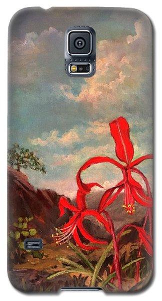 Jacobean Lily Of Mexico Galaxy S5 Case