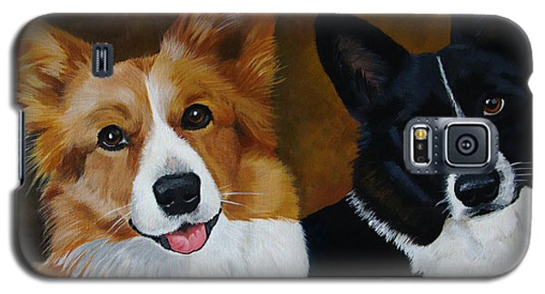 James And Joy Custom Portrait Painting Galaxy S5 Case