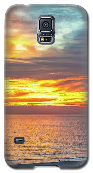 January Sunset - Vertirama Galaxy S5 Case