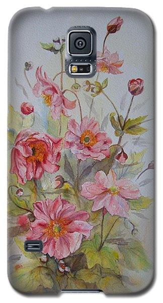 Japanese Anemones Galaxy S5 Case