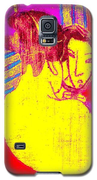 Japanese Pop Art Print 1 Galaxy S5 Case