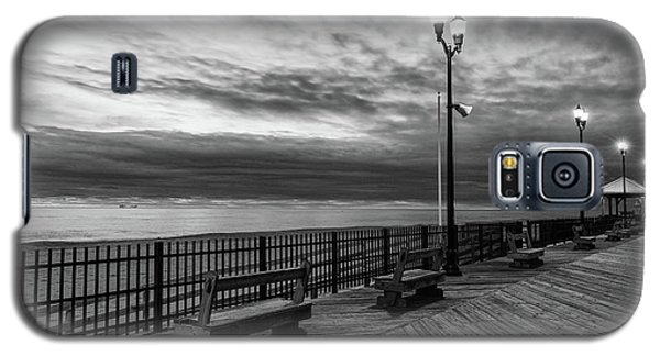 Jersey Shore In Winter Galaxy S5 Case