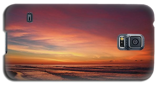 Jersey Shore Sunrise Galaxy S5 Case