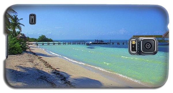 Jetty On Isla Contoy Galaxy S5 Case
