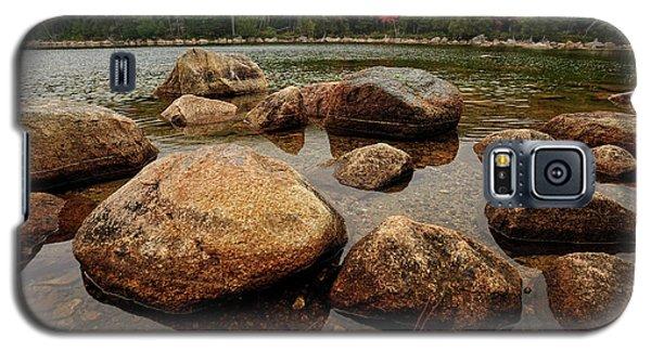 Jordon Pond Boulders Galaxy S5 Case