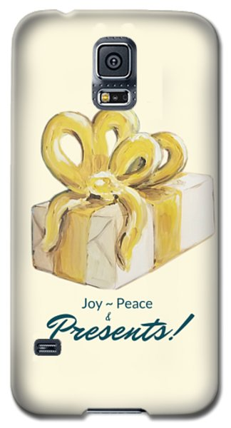 Joy, Peace And Presents Galaxy S5 Case