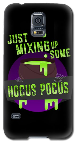 Just Mixing Some Hocus Pocus Halloween Witch Galaxy S5 Case