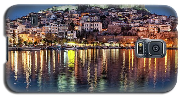 Kavala Town At Night Galaxy S5 Case