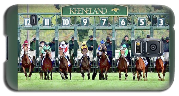 Keeneland Starting Gate Galaxy S5 Case