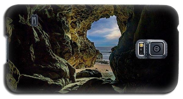 Keyhole Cave In Malibu Galaxy S5 Case