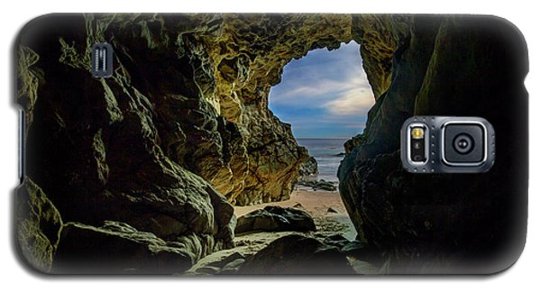Keyhole Cave In Malibu Galaxy S5 Case
