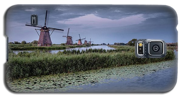 Kinderdijk Dark Sky Galaxy S5 Case
