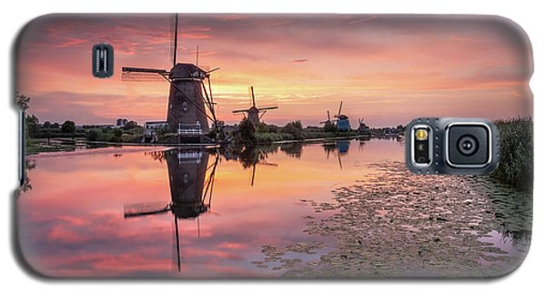 Kinderdijk Sunset Galaxy S5 Case