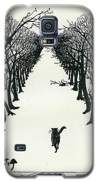The Cat That Walked By Himself Galaxy S5 Case
